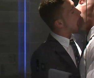 Marco Rubi Fucks His Boss Donato Reyes in a Private Suite