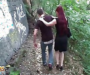 Russian redhead got us off