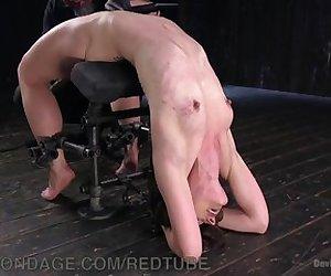 Heavy Bondage And Caning